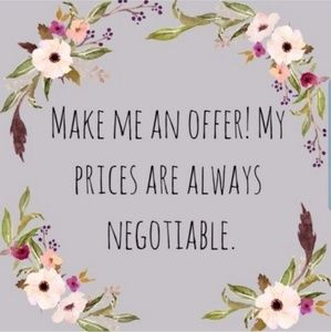 🌷Offers Welcome🌷